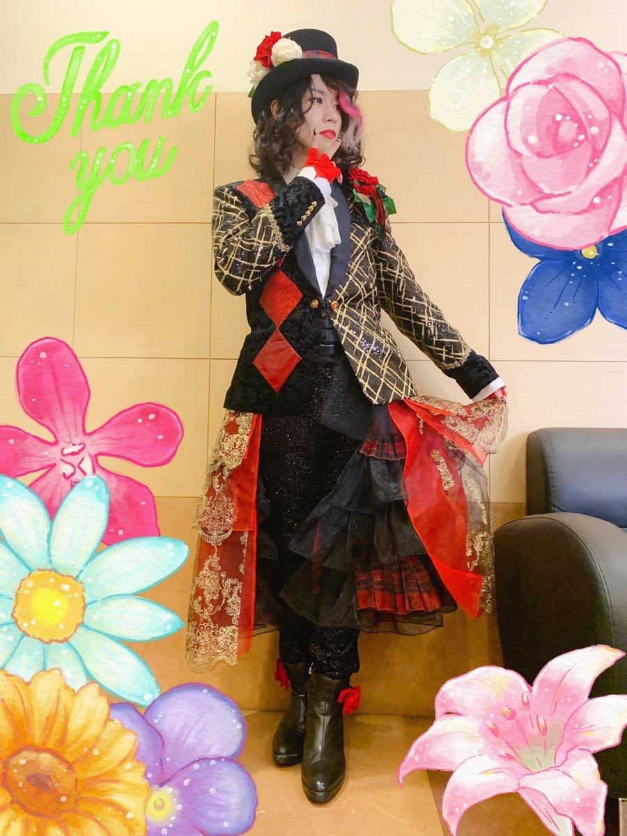 半年ぶりに変身しました。ETA名古屋にてご覧頂いた皆さまありがとうございました!今まで楽曲等で陰ながら携わらせて頂いたイベントに出演者として立てて嬉しかったです。名古屋は12/26ワンダーツアーでまたおじゃまします🙆♀️
