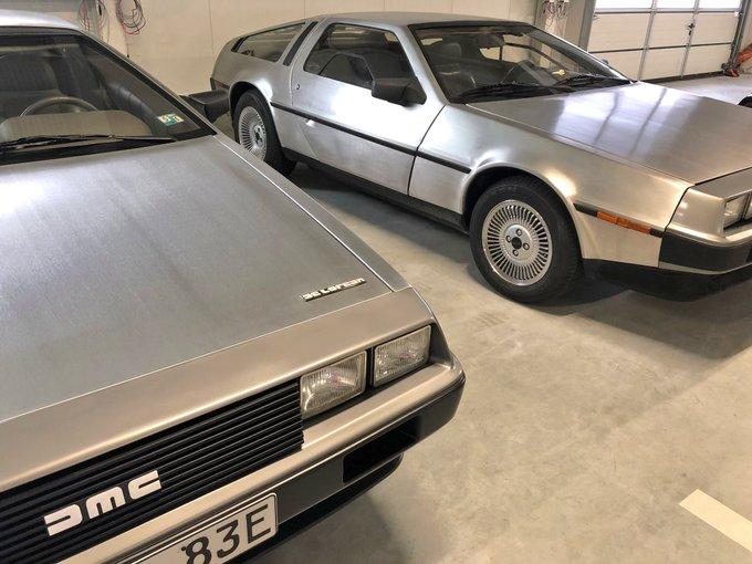 DeLorean aus ZurückInDieZukunft als Elektroauto? Lädt n