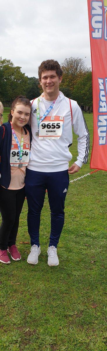 #BigFunRun2019 Agony but we did it, also reached our £300 goal for @ehlersdanlosuk !    @BigFunRun https://t.co/cjgf4510bi