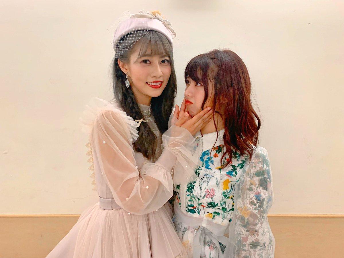 昨日、阿部さんとたぁぁくさん話ができました‼️卒業発表の時にすごく寂しくてショックでしたが💔色々話していて今は心から祝福しています「台湾で一番有名な日本芸能人になる」という夢、必ず叶うと思います卒業おめでとうございます☺️#AKB48TeamTP #台北アリーナ
