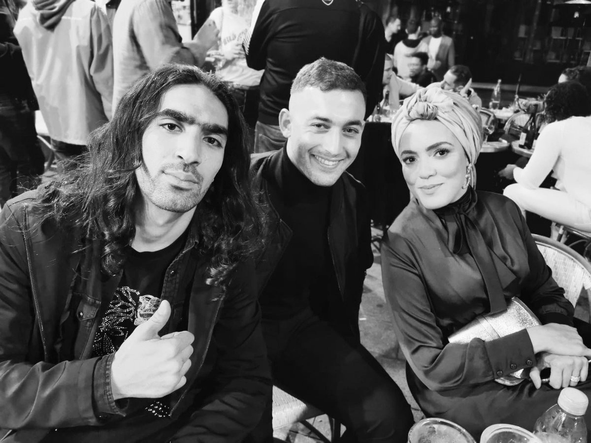 The French-Algerian team of #banlieusards the movie  With the talented actors : Dali Bensalah, @patchii_officiel  and me ;)  Make-up : @laya_makeup_paris  Dressed by @gibrilandgabrielle On @NetflixFR   : @yasmineakkaz #cinema #frenchcinema #actor #paris #123vivalalgerie <br>http://pic.twitter.com/9AF71eF10q