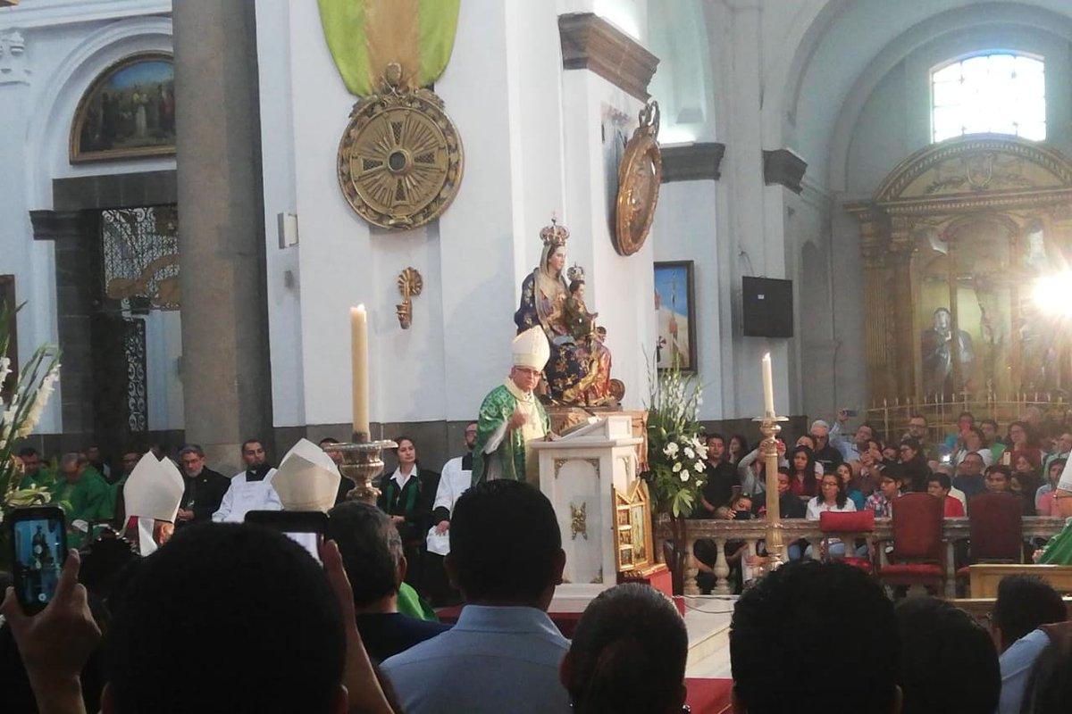 test Twitter Media - El cardenal Álvaro Ramazzini en su primera homilía en la Catedral Metropolitana tras su nombramiento por el @Pontifex_es https://t.co/MrrsTczkuE