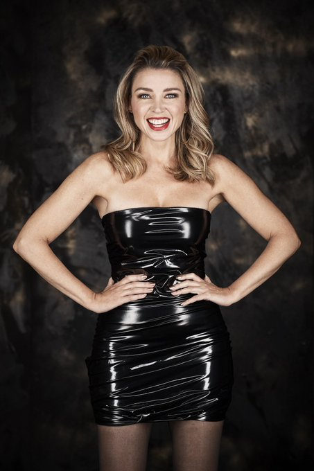 Happy Birthday Dannii Minogue. It doesn\t get much better than seeing her in a skin tight PVC minidress.