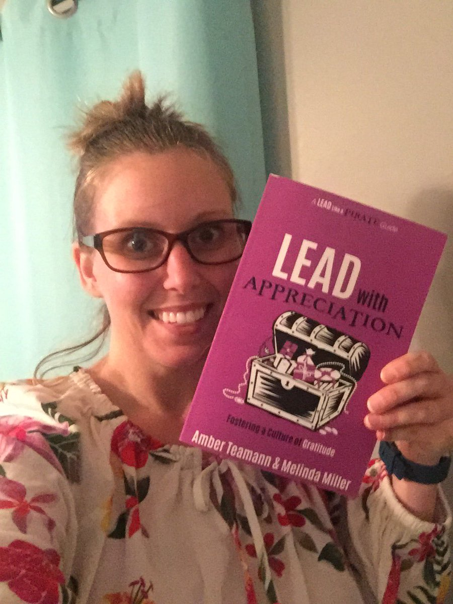 Cannot wait to read #leadwithappreciation - the latest #LeadLAP guide! 🙌 #DBCBookBlogs