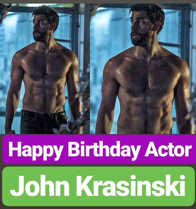 HAPPY BIRTHDAY  John Krasinski