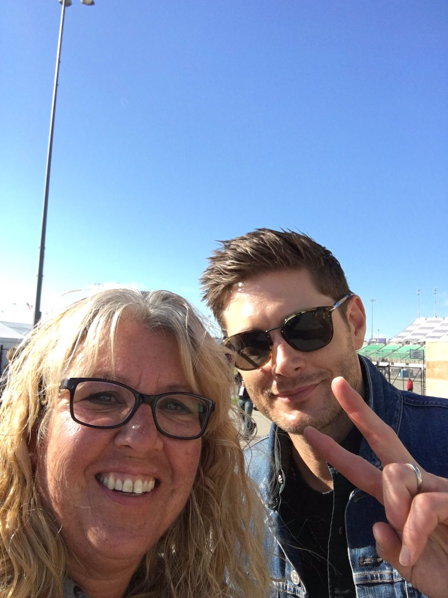 RT @Dawn9469: Thanks for the pic @JensenAckles Have fun today driving the pace car!! @kansasspeedway #NASCARPlayoffs https://t.co/njeUDGBXlm