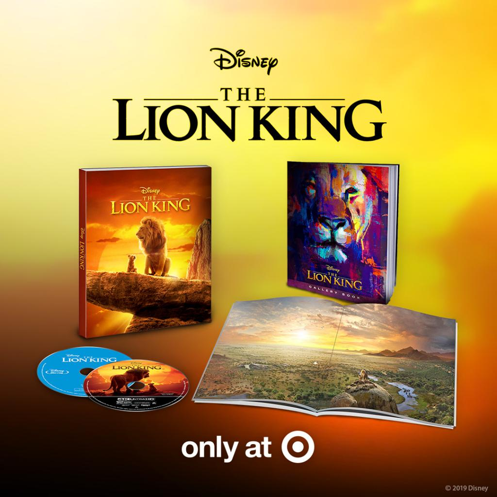 Bring home #TheLionKing with @Targets limited-time exclusive Filmmaker Gallery book: di.sn/600918aT3