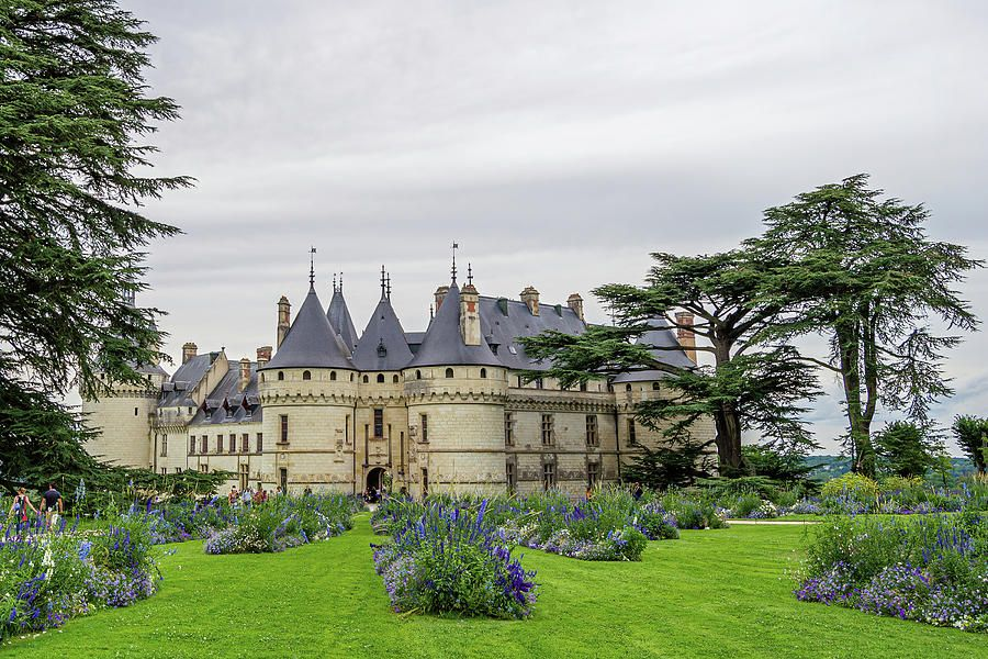 Chaumont Castle In Loire Valley France Art Print Home Decor Wall Art Poster D