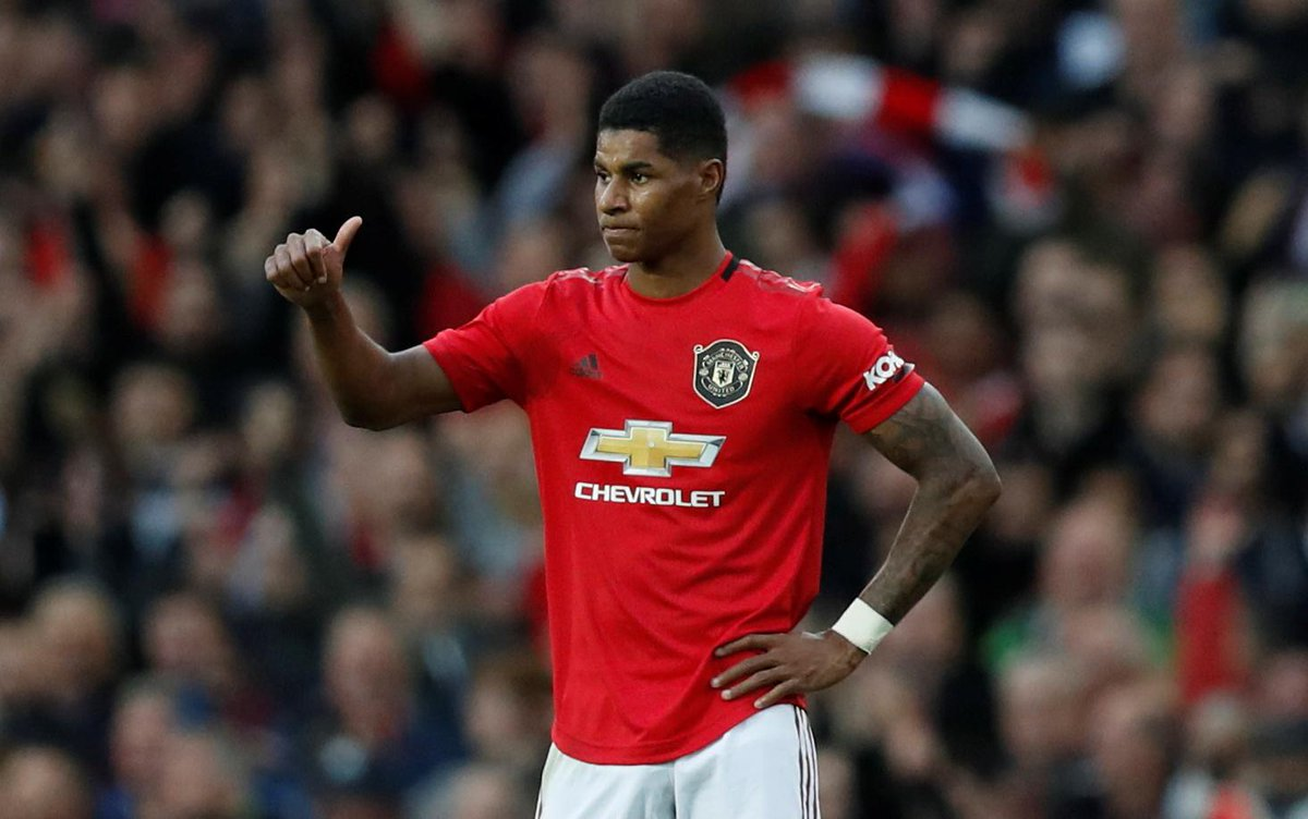 Premier League On Twitter Half Time Man Utd 1 0 Liverpool Marcus Rashford Gives The Home Side The Lead In Munliv