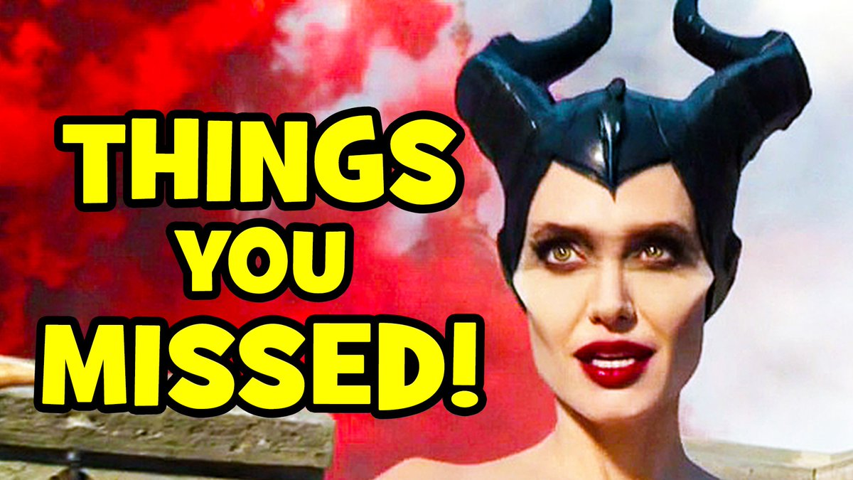 New Video: 12 Amazing Easter Eggs You Missed In #MaleficentMistressOfEvil ►►► youtube.com/watch?v=-cUueA… #Maleficent2 #Maleficent