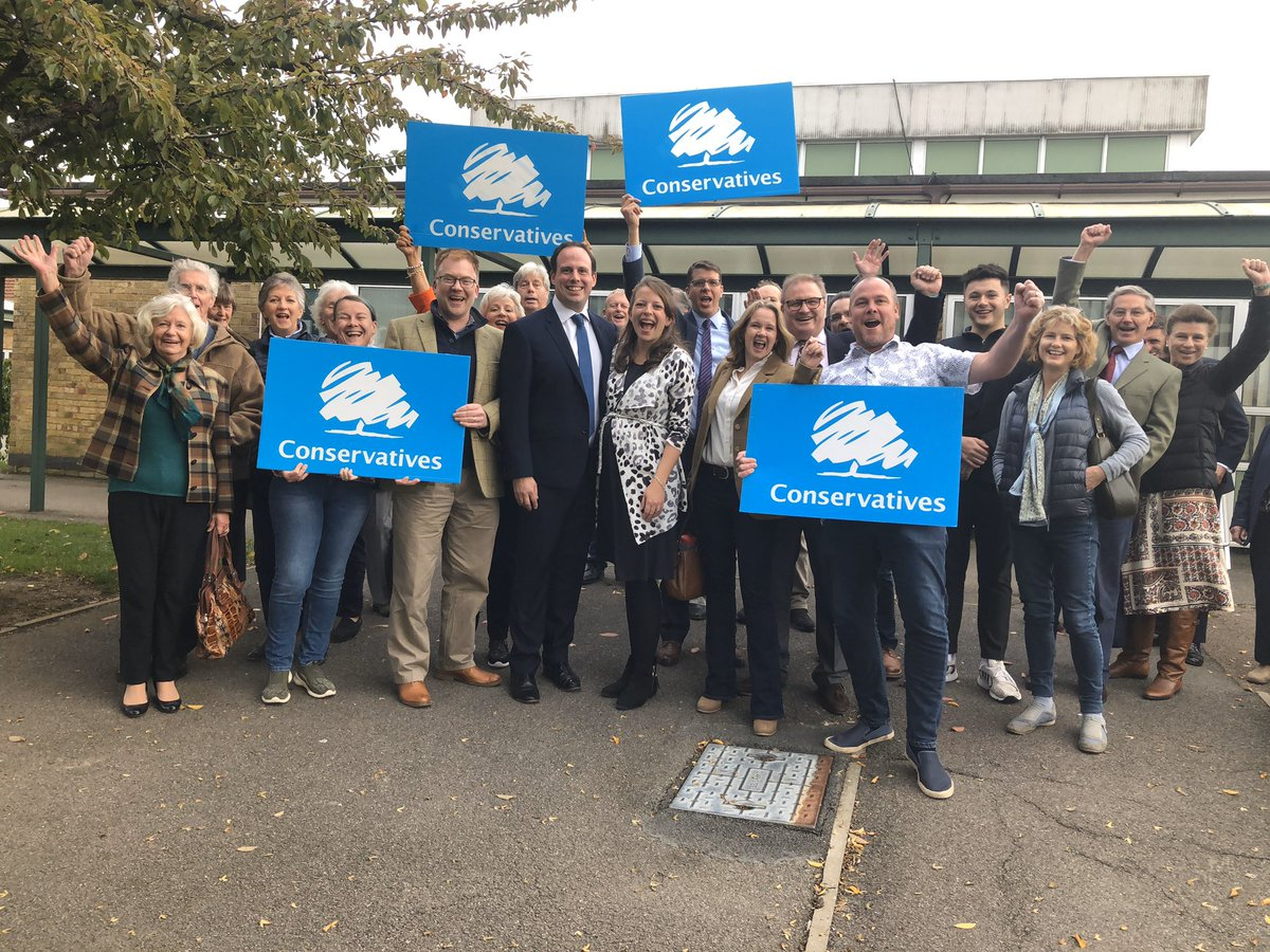 Delighted and humbled to have been selected as the Conservative Candidate for Buckingham today. Looking forward to getting the campaign started. Commiserations to my fellow candidates @Ben_Everitt @hellojjackson and Rob Butler - all of whom are first rate @Conservatives