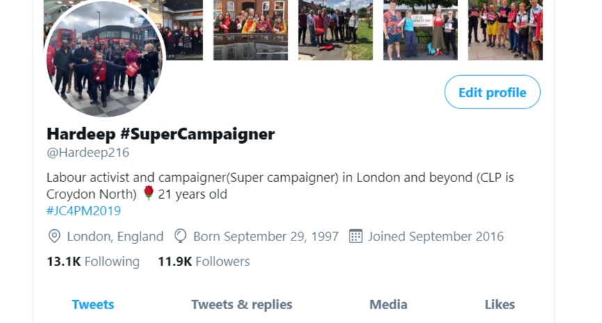 Want to say an absolutely massive thank you to everyone who has gotten me to just 80 or so short of 12k followers Absolutely mind boggling numbers and I never thought in my wildest dreamers I would have such a big following here on twitter Love my twitter comrades #labourparty