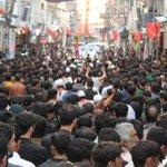 Image for the Tweet beginning: پاراچنار میں بھی چہلم شہدائے