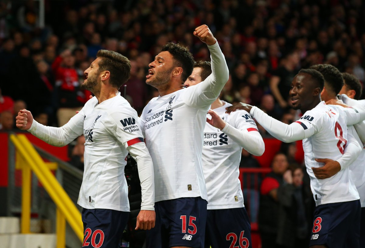 Still unbeaten in the @premierleague, Reds 👊🔴