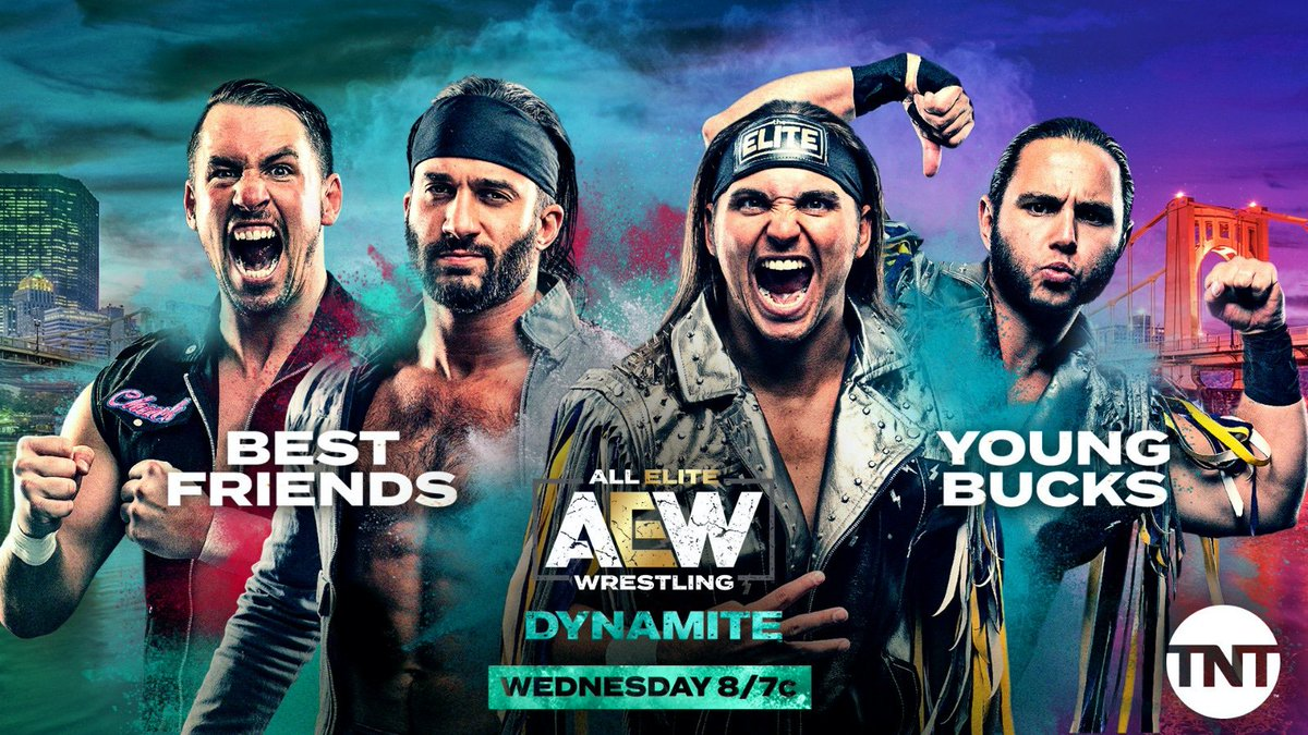 AEW Announces Best Friends Vs. The Young Bucks For Wednesday's Dynamite Episode
