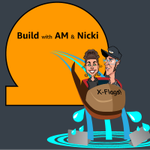 Image for the Tweet beginning: Build with @amsxbg & @kneekey23