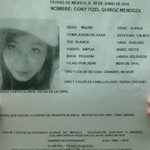 Image for the Tweet beginning: #TeBuscamos Cony Itzel Quiroz Mendoza,