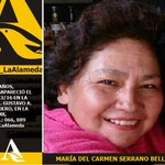 Image for the Tweet beginning: #TeBuscamos Ma del Carmen Serrano