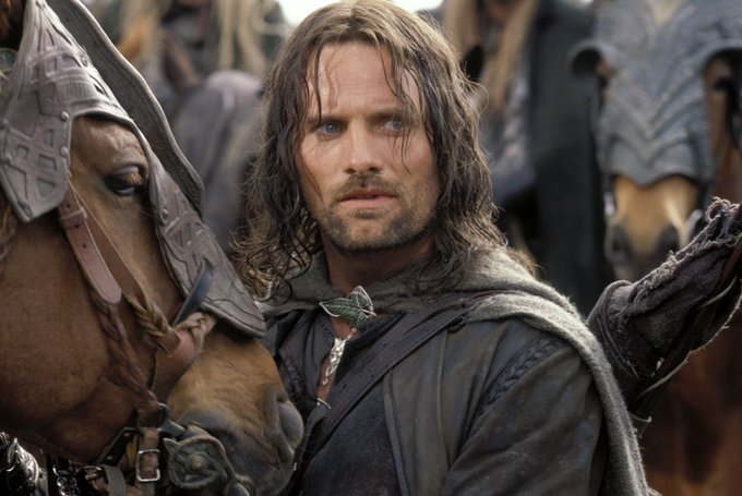 Forever our Aragorn. Happy Birthday, Viggo Mortensen!
