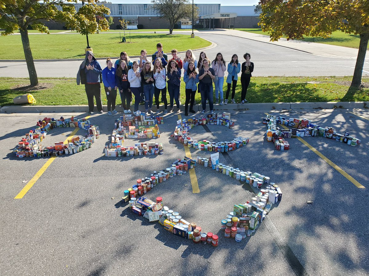 Trick-Or-Can 2019  We can proudly say that today we donated 1,260 items to our local Halo along with Racine Park DECA. Thanks to everyone who came to help! #wideca<br>http://pic.twitter.com/m65SO8M8w8