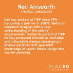 MEET NEIL! Partner at our wonderful #PLACEDACADEMY sponsors @FWPGroup & Strategic Ambassador, at PLACED! We're very proud to have Neil onboard & thankful for his input across projects! Meet the whole PLACED team at: https://t.co/2IDddHgVLs For FWP: https://t.co/LtUR114UhR #PLACED