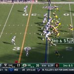 Image for the Tweet beginning: Marquez Valdes-Scantling goes 74 yards!