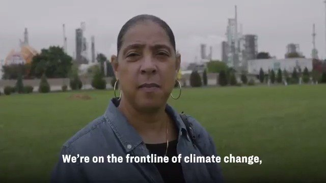 Communities on the front lines of climate change deserve justice—and voices like Theresa Landrums are the ones that should be leading the conversation as we fight for our clean energy future.
