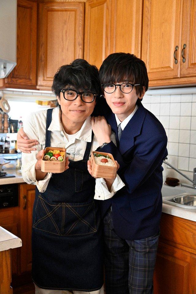 渡辺俊美のお弁当エッセイが映画化!井ノ原快彦と道枝駿佑が親子演じる