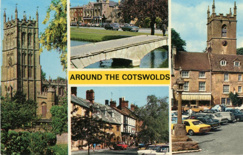 That Nimble advert was around at about the same time as we lived in the Cotswolds, so your postcard and message both bring back many happy memories! 🍞😊