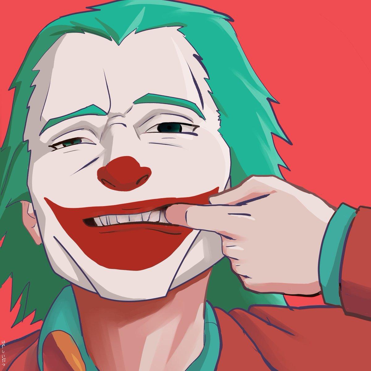 "Ikatsu Hayashi على تويتر: ""Nobody: Me: Heres the #Joker mimicking"