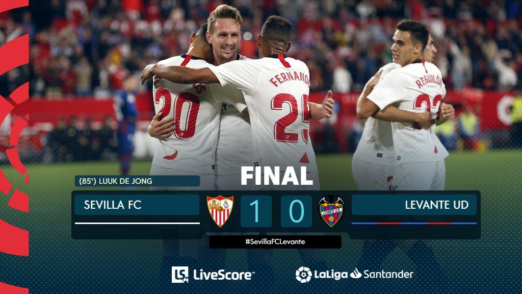 Liga : le FC Séville vient à bout de Levante