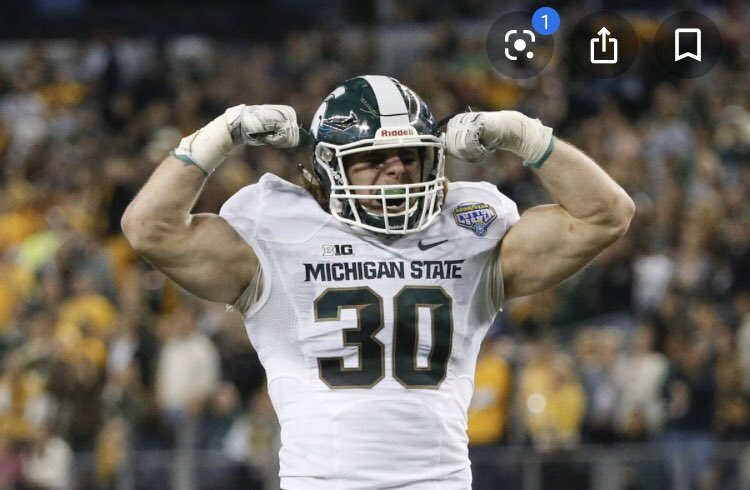 Beyond thankful to receive an offer from Michigan State University #GoGreen