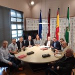 Image for the Tweet beginning: El sábado se reunió en