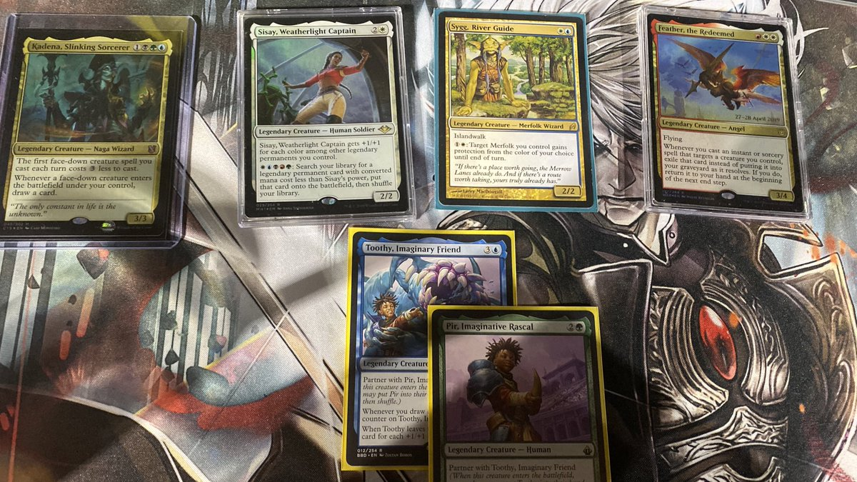 test Twitter Media - Game tres. Who wins this bout! #edh #40lifeinadash https://t.co/k81Dy3B1QV