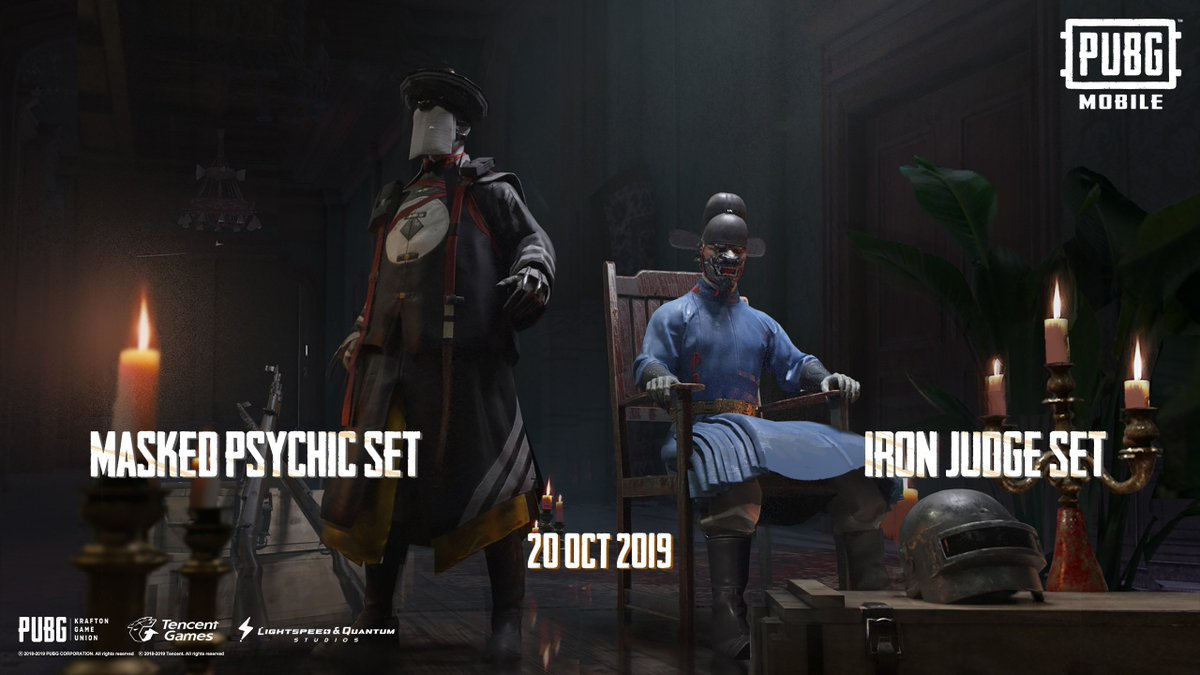 Looking for something a little bit scarier than the usual assortment of witches, ghosts, and goblins? How about the Iron Judge, or Masked Psychic!