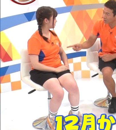 橋本環奈太った?