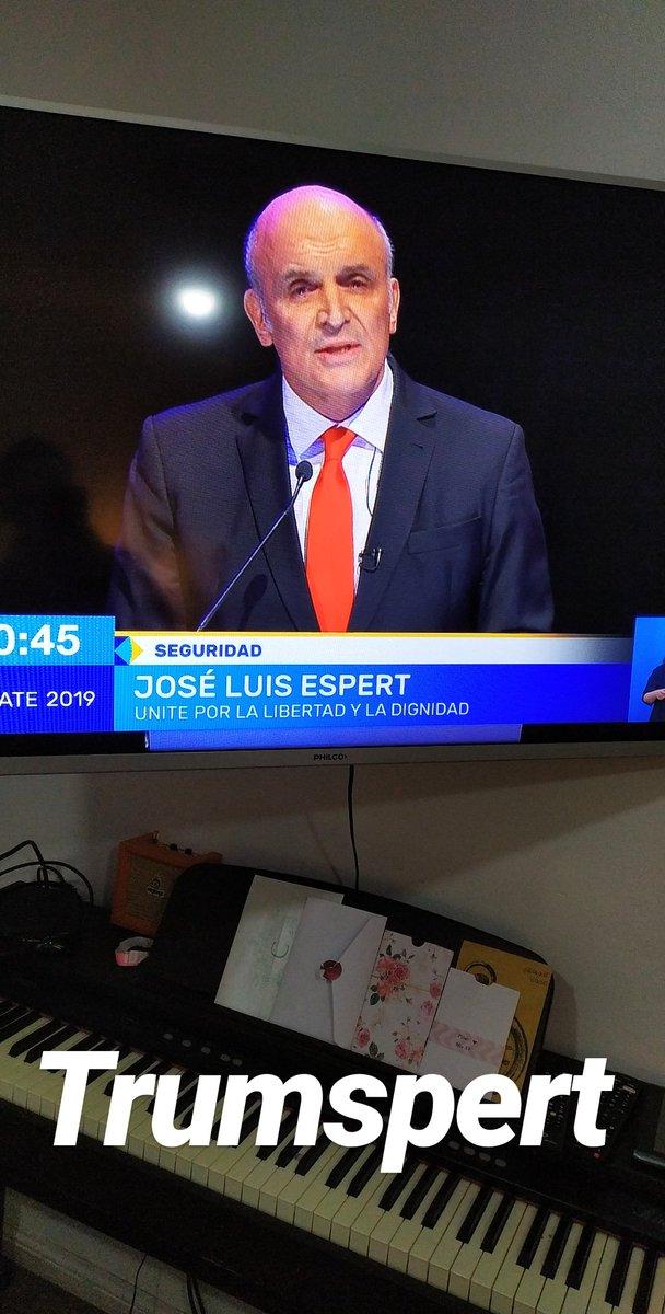 Trumspert.  #DebatePresidencial2019  #Espert2019  #partidolibertariopic.twitter.com/FAcNR5mMi0