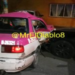 Image for the Tweet beginning: Taxista se pasa el alto
