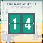 Image for the Tweet beginning: 🚀YGGDRASH MainNet D-14🚀 TWO WEEKS LEFT!!  Join