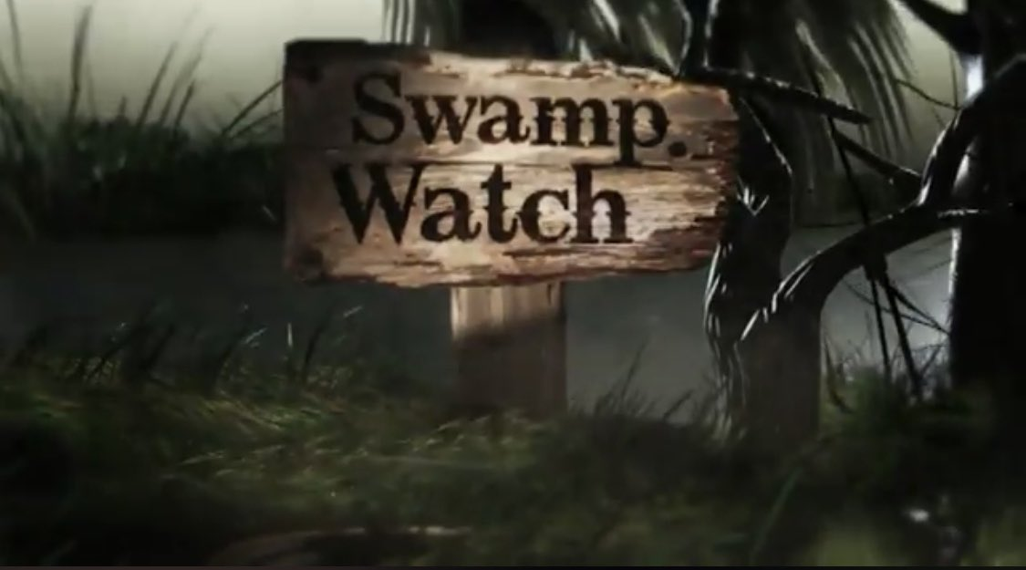 What does Trump think you do at a Swamp Watch?