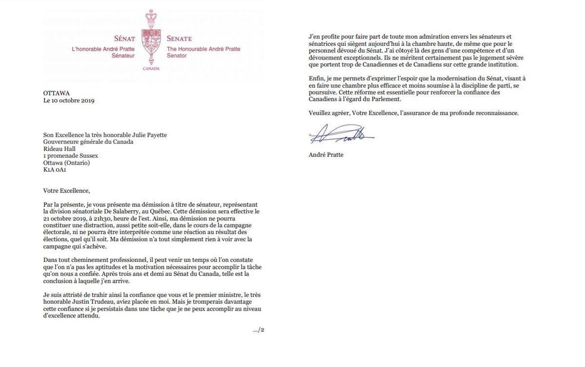 Lettre De Démission Québec - Modele De Lettre De Demission ...