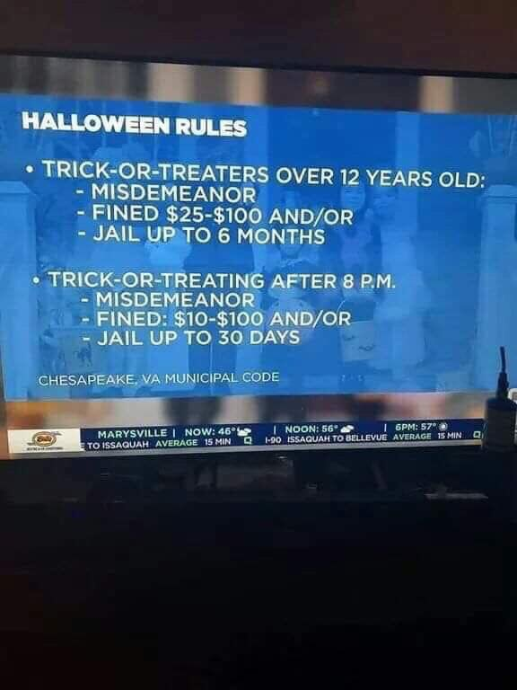 Replying to @beinlibertarian: And government ruins Halloween 🎃