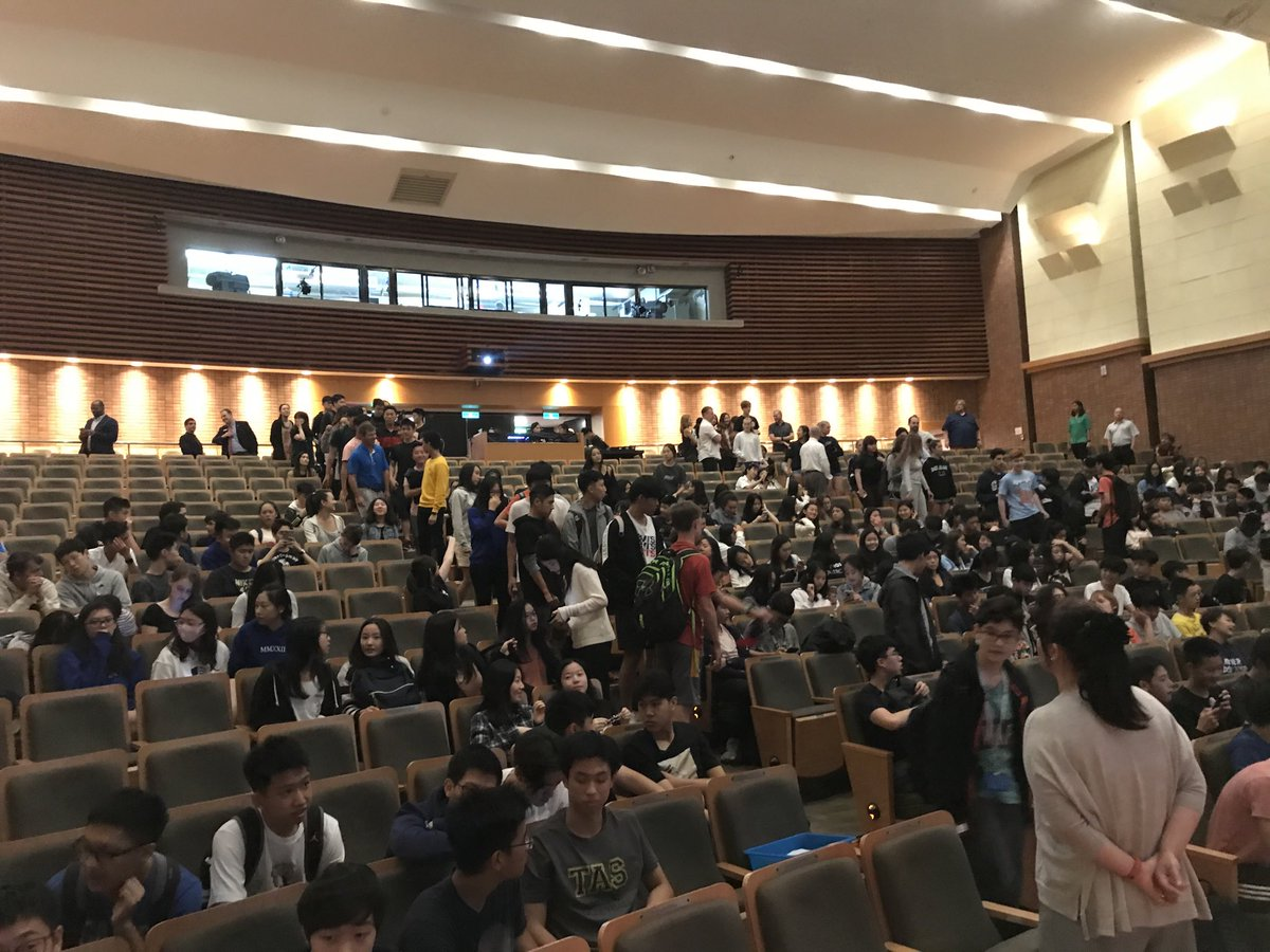 test Twitter Media - Auditorium filling up in Taipei before my talk on #LiberalEducation https://t.co/BDT6lh2igh