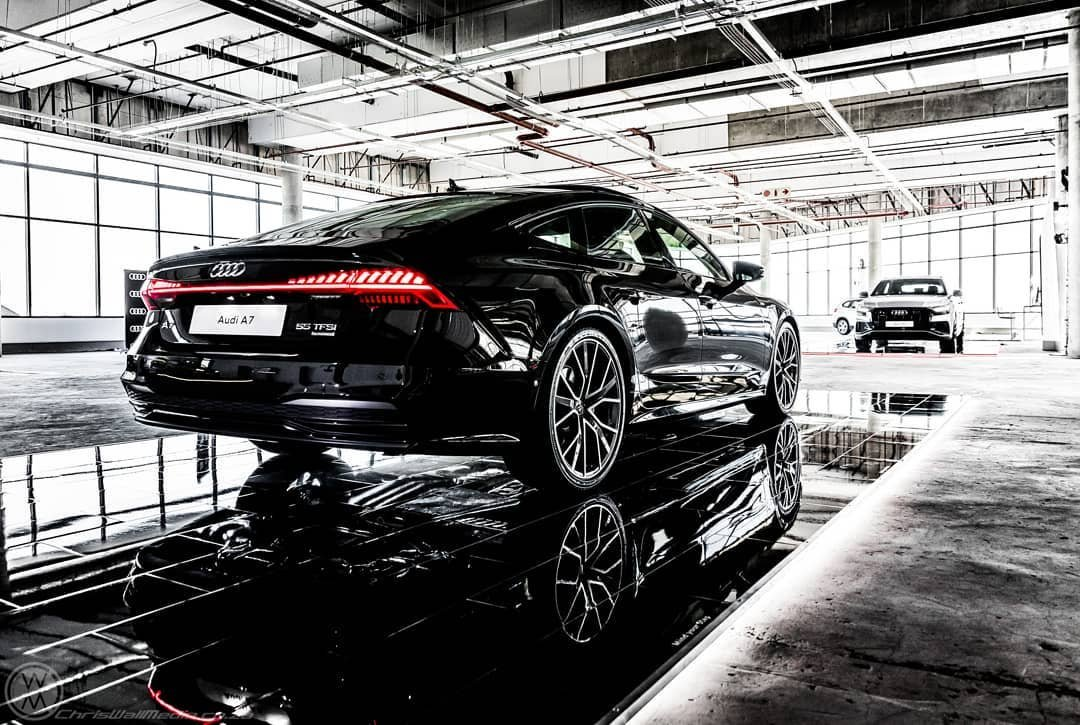 Stairway to Seven. #AudiSouthAfrica #A7 📸 @ChrisWallMedia