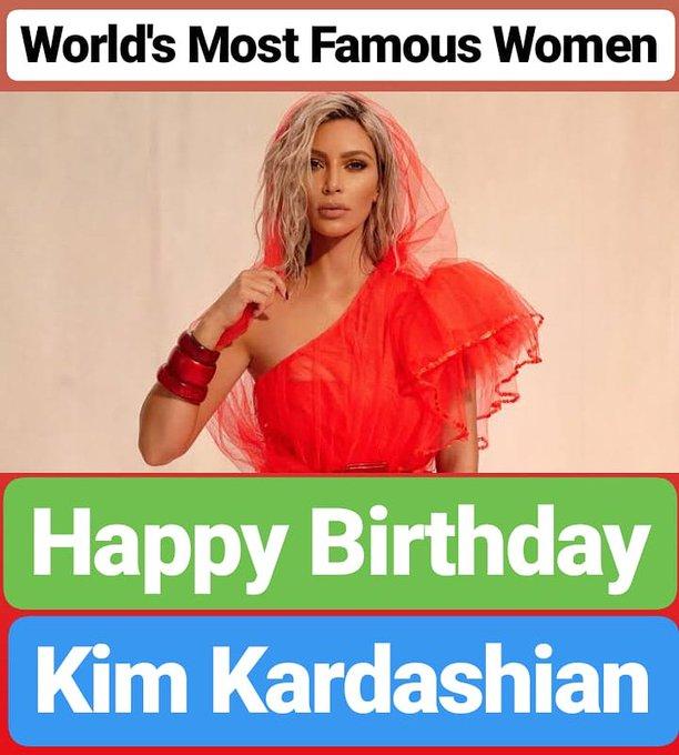 HAPPY BIRTHDAY Kim Kardashian
