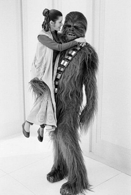 Forever in our hearts. Happy birthday Carrie Fisher