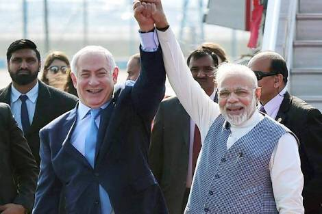 Happy birthday to Israel Prime Minister Mr Benjamin from India...