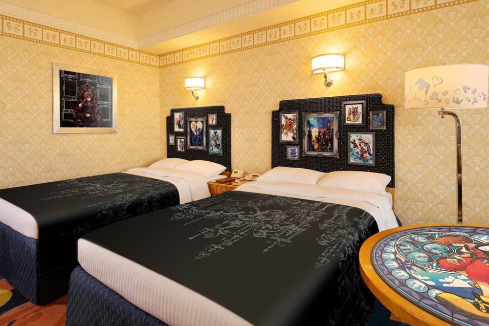 """ディズニーアンバサダーホテル「キングダム ハーツ」特別ルームがパワーアップして再び!新デザインではキーブレード""""キングダムチェーンD""""の客室キーも -"""