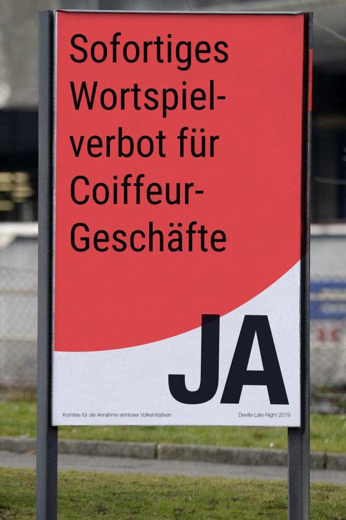 Sofortiges Wortspiel-verbot für Coiffeur-Geschäfte