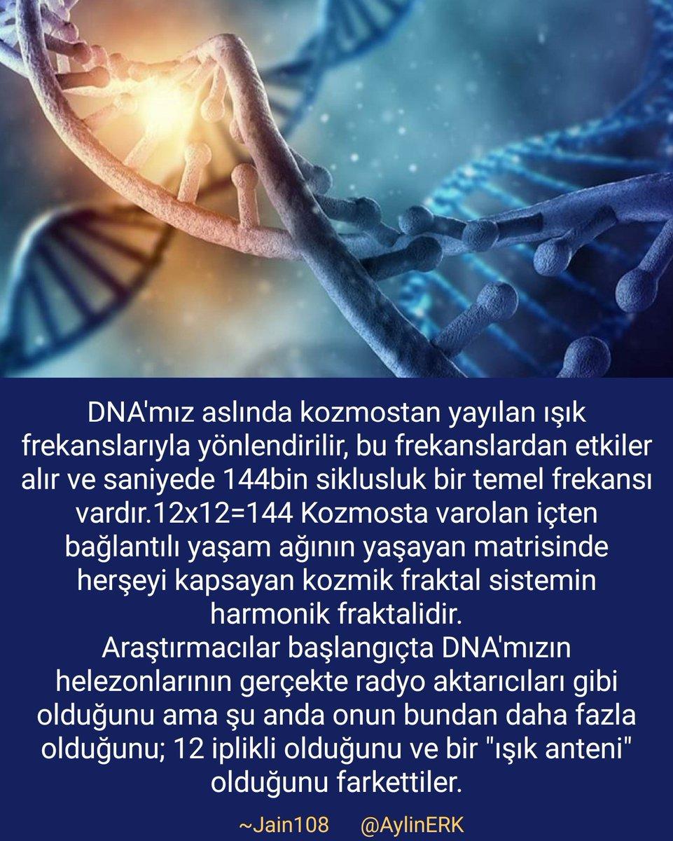 """#Bilim #Genetik #Kozmoloji #DNA 'mız aslında kozmostan yayılan ışık frekansıyla yönlendirilir... Araştırmacılar """"ışık anteni"""" olduğunu fark ettiler.. #Jain108 pic.twitter.com/VRB4dABbSH"""